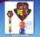 Ballonpilaar: Partys Here