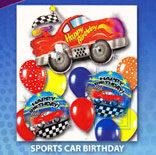 Ballonnenpakket: Sports Car Birthday