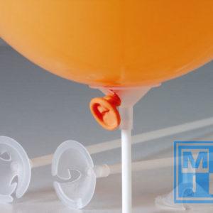 C en S Staafjes tbv ballonnen plastic (per 100st.)