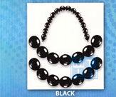Ballonpilaar: Black - Zwart