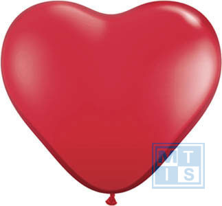 HARTVORM ballonnen WIT