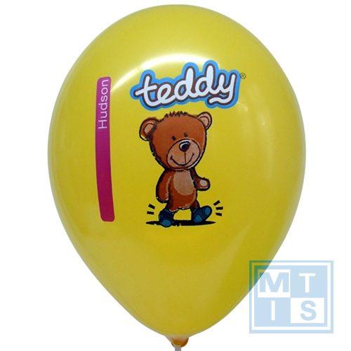 Superdruk bedrukken van ballonnen: 2zijden/4kleuren