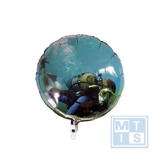 Folienballon rund, digital druck