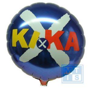 folieballon rond bedrukt DeReclameBallon