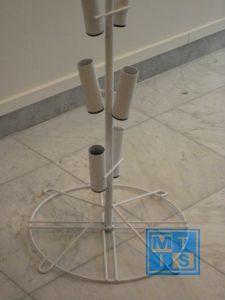 Ballonnenboom van metaal voor 16 ballonnen of vlaggen 2