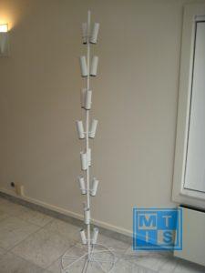 Ballonnenboom van metaal voor 16 ballonnen of vlaggen
