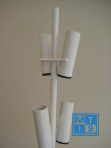 Ballonnenboom van metaal voor 16 ballonnen of vlaggen DeReclameballon